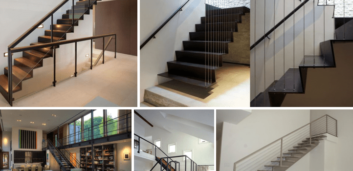 5 metalen trappen voor elk interieur | Upstairs Traprenovatie