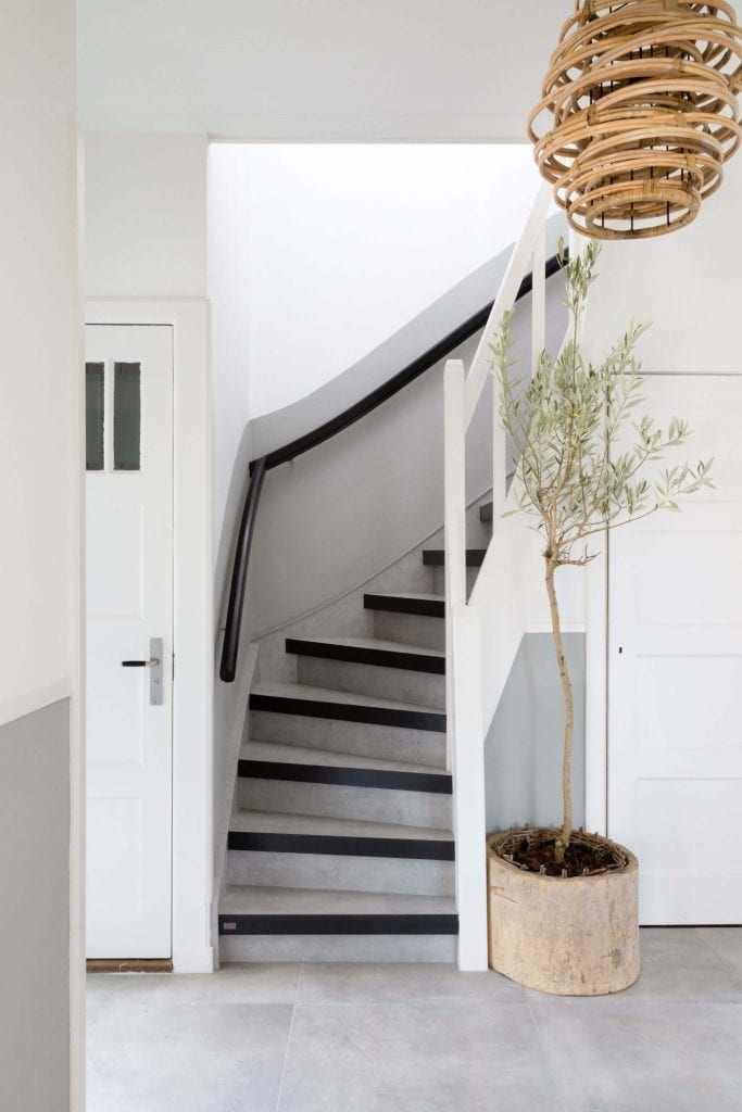 Steel Twist Blue Steel Nosing On Your Stair Upstairs Staircase - Classic interior design romantic twist